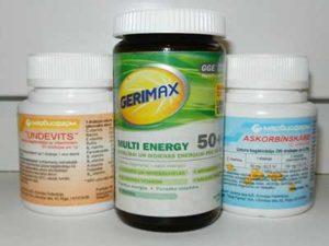 Витамины - последний этап выздоровления